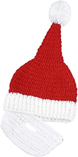 Wiwsi Men Boy Funny Wig Beard Hats Hobo Mad Caveman Winter Knit Warm Hat Beanies