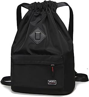 Waterproof Drawstring Sport Bag Lightweight Sackpack Backpack for Men and Women