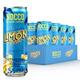 NOCCO - BCAA Sugar Free Energy Drink - 12 Low Calorie, Pre Workout Beverages - Refreshingly...