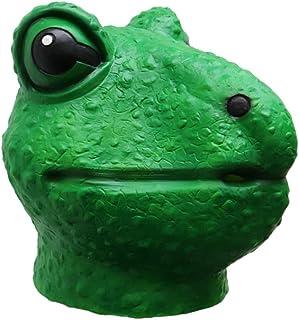 Amosfun Frog Full Head Mask Creepy Party Halloween Costume Party Latex Frog Latex Head Mask For Adults And Kids