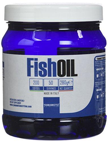 Yamamoto Nutrition Fish Oil Suplemento de Ácido Graso Esencial - 200 Cápsulas