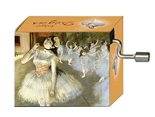 Fridolin 58114 Spieluhr Tschaikowsky - Blumenwalzer / Degas - Beim Ballett