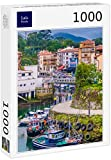 Lais Puzzle Llanes, un Hermoso y Animado Pueblo pesquero en el Mar Cantábrico, Principado de Asturias, Noroeste de España 1000 Piezas