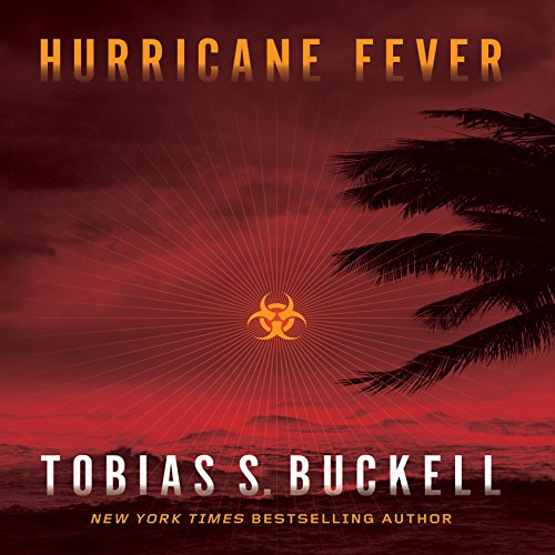 Hurricane Fever audiobook cover art