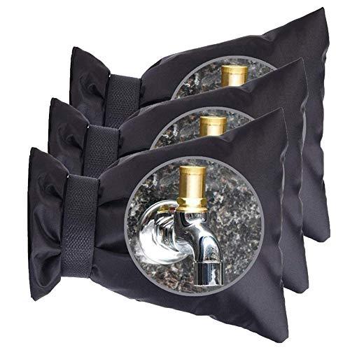 FGX 3 Piezas Cubierta Para Grifos De Exterior, Cubiertas Exteriores Para Grifos Para El Invierno, Para Jardín Resistente A Helada Proteger Grifos De Agua En Invierno Al Aire Libre, Resistente Al Frío