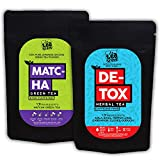 The Tea Trove 25 Day and Night Teatox -AM Matcha Green Tea Detox