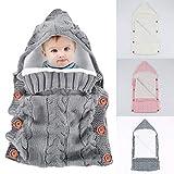 Yinuoday - Saco de dormir con capucha para bebé recién nacido, manta para...