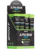ONNIT Alpha Brain Instant - Coconut Lime Flavor - Nootropic Brain Booster Memory Supplement - Brain Support for Focus, Energy & Clarity - Alpha GPC Choline, Cats Claw, L-Theanine, Bacopa - 30 Servings