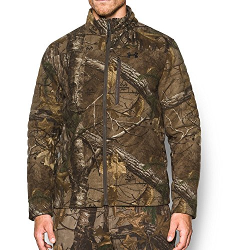 Under Armour Men's Cw Whitetail Jacket,Realtree Ap-Xtra (946)/Black, Medium