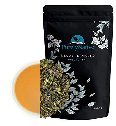 Decaffeinated Oolong Tea Loose Leaf, Great For Hot Brew, Iced Or Kombucha Tea   Organic Loose Leaf Decaf Oolong Tea Leaves 3.5oz (About 50 Cups)