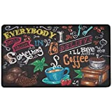 Artistic Anti Fatigue Kitchen Floor mat. Kitchen Floor mats for in Front of Sink. Cushioned Kitchen mat. Padded Kitchen Floor mats. Foam Kitchen mats for Floor. Memory Foam mat. 30' x 18'