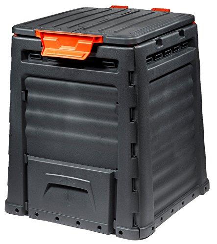 Eco Komposter, 320L, schwarz