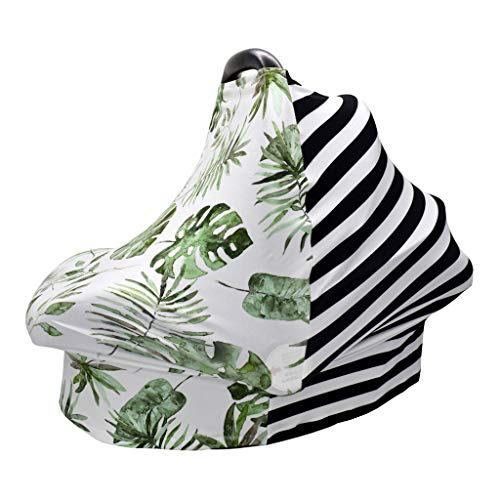 ZChun 4 In 1 Stretchy Autositzbezug, Baby Privacy Nursing Cover, Infinity Nursing Scarf Für Den Warenkorb
