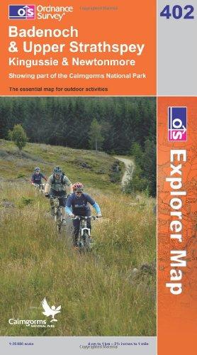 OS Explorer map 402 : Badenoch & Upper Strathspey