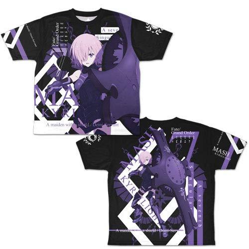 Fate/Grand Order -絶対魔獣戦線バビロニア- マシュ・キリエライト 両面フルグラフィックTシャツ/M