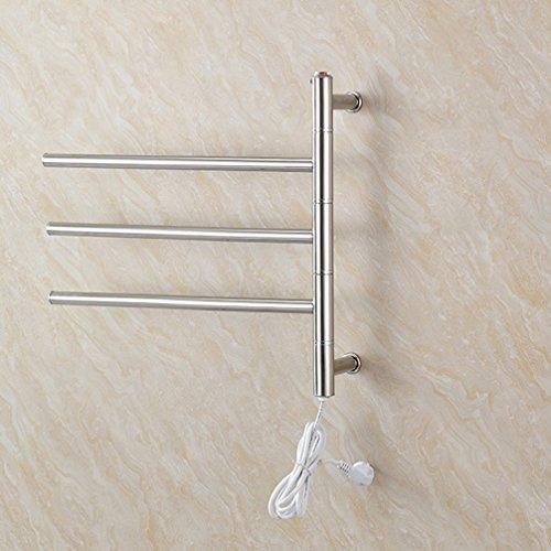 Elektrischer Handtuchhalter Badezimmer Wäscheständer Edelstahl Badezimmer Handtuchablage Toilette Bad Elegant Regale Handtuchhalter 460MM×560MM×120MM