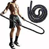 Best Weighted Jump Ropes - Weighted Jump Rope Workout Battle Ropes Heavy Skipping Review