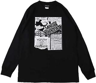 (ファーストライン)FIRST-LINE (W) マイナースレット MINOR THREAT 1 BLK L/S(長袖)/長袖Tシャツ