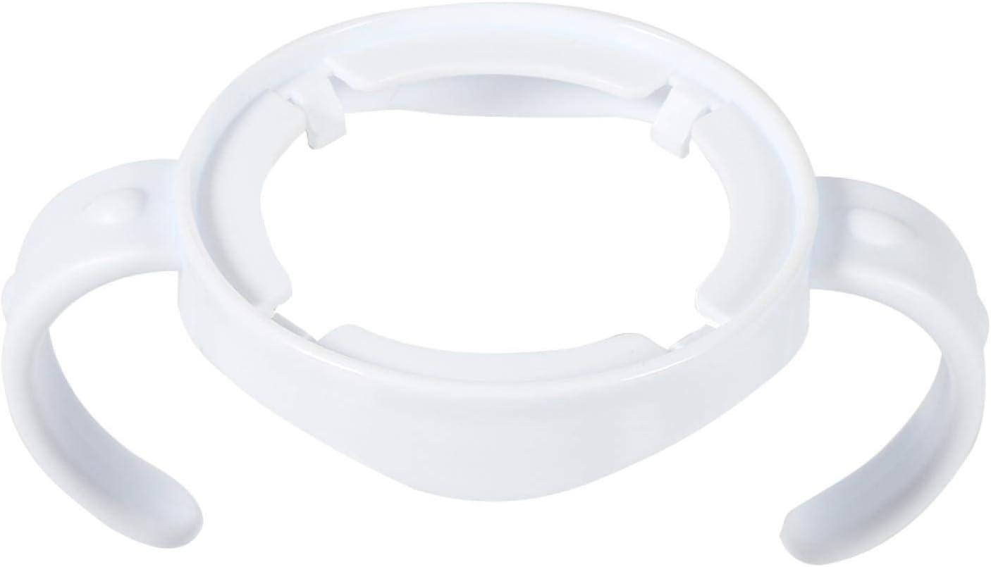 Porta biberones de alimentación para bebés Closer to Nature Asas para biberones Mango de plástico estándar de fácil agarre Blanco para la serie Avent Natural