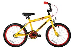 """18"""" wheel play cycle colour cordinated spoked wheels, stylish looks , safety features include chainguard, easy reach brakes,padding on stem"""
