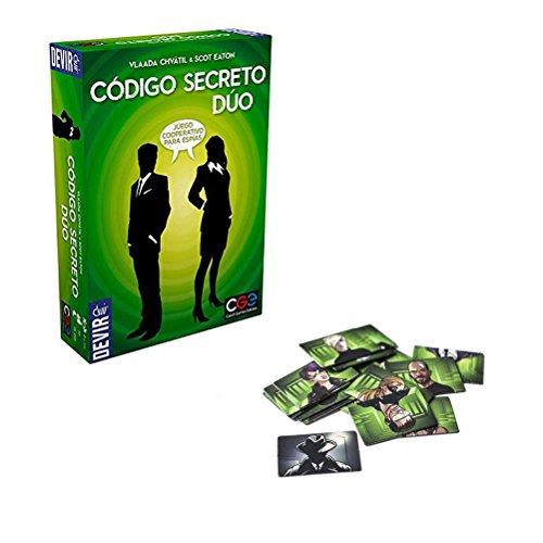 Devir BGCOSED. Juego de mesa Codigo secreto Duo. Edicion en castellano