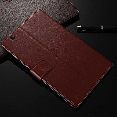 Huawei MediaPad m321,3cm custodia [Victorlan] retro in pelle per Huawei MediaPad m3btv-w09btv-dl0921,3cm con supporto carta magnetica per tablet Cases Earthen