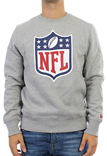 New era NFL Crewneck Team Logo Heathergrey - XXL