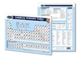 Chemical Periodic Table Chart - Laminated Chart- Chemistry Quick Reference Guide by Permacharts