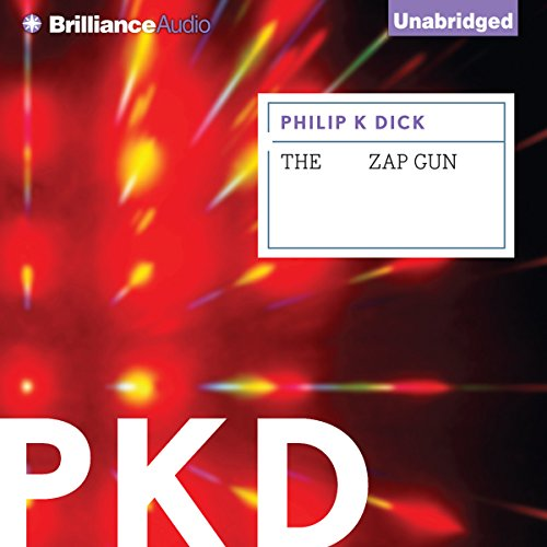 The Zap Gun audiobook cover art