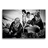 Premium Textil-Leinwand 75 x 50 cm Quer-Format Syrische