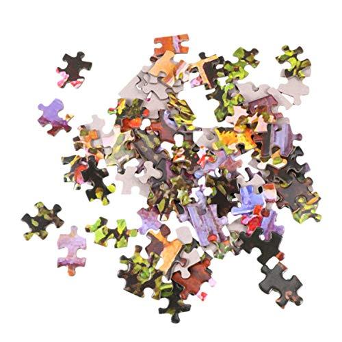 Artibetter Puzzel Tuin Huis Kinderen Volwassen Spel Speelgoed Cadeau Diy Olieverfschilderij Vliegtuig Puzzel Landschapsbouw Patroon Intellectueel Educatief Speelgoed 1 Set / 1000 Stuks