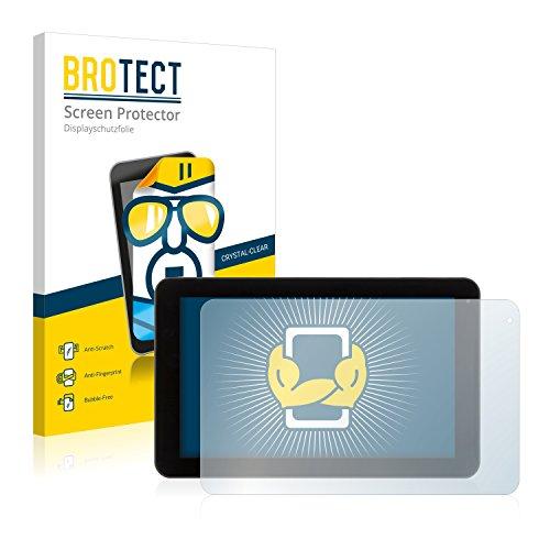 BROTECT Schutzfolie kompatibel mit Xoro TelePAD 9A1 (2 Stück) klare Bildschirmschutz-Folie