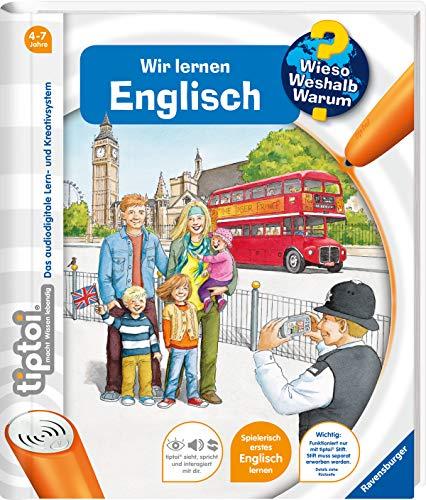 tiptoi® Wir lernen Englisch: Mit über 1.500 Sounds (tiptoi® Wieso? Weshalb? Warum?, 5)
