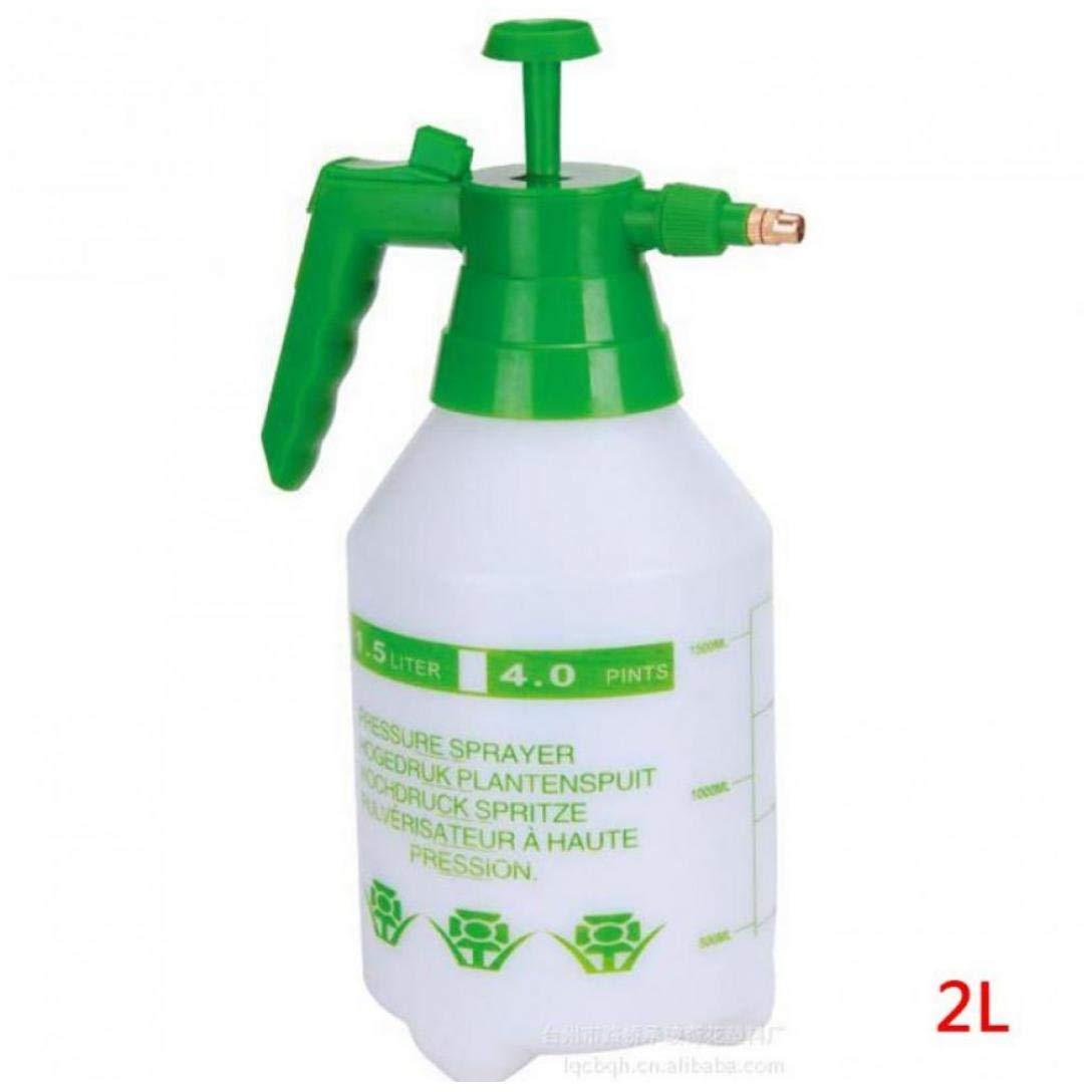 2L pulverizador a presión portátil botella del aerosol Jardín Hervidor flores de la planta de riego presurizado Pueden las herramientas de jardinería pulverizador: Amazon.es: Hogar
