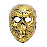 LLWGNZM Masque-2019 Nouveau Halloween Masque Cosplay Squelette Visage Masque Terreur Masque Tête Masque Terreur Props Accessoires Parti Masque, comme indiqué