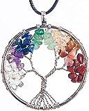 ORYCOOL Collar de árbol de la Vida con Colgante de...