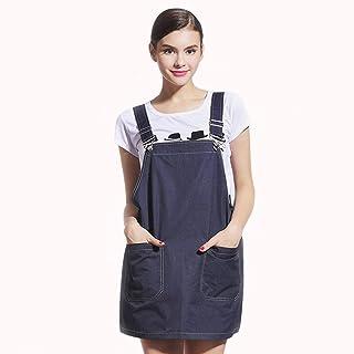بدلة إشعاع، ملابس حماية من الإشعاعات للنساء الحوامل لأربعة مواسم (اللون: أزرق، المقاس: متوسط)