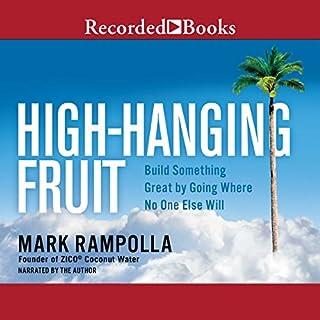 High-Hanging Fruit audiobook cover art