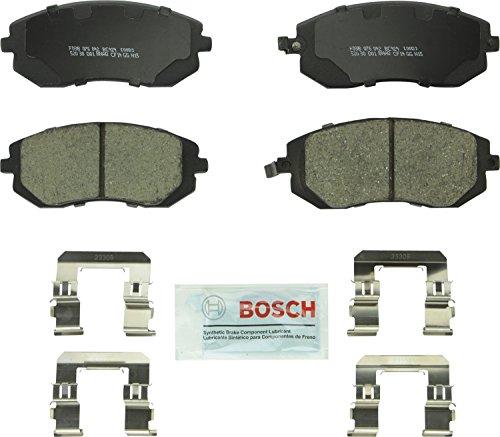 Bosch BC929 QuietCast Premium Ceramic Disc Brake Pad Set For: Saab 9-2X; Subaru Baja, Forester,...