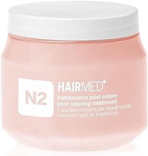 HAIRMED - N2 Maschera Nutriente Capelli Professionale - Maschera Ristrutturante Capelli Secchi Colorati - Post Colore - 25...