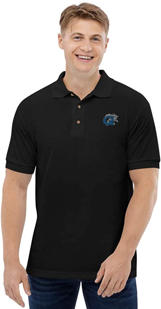 Garinger High School Wildcats Embroidered Polo Shirt NC-28205-01