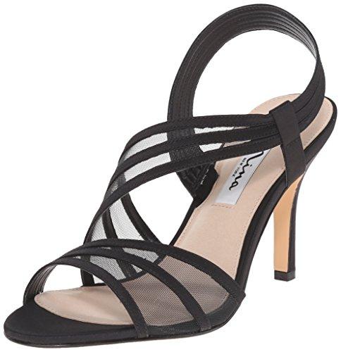 Nina Women's Vitalia Dress Sandal, Ls- Black, 5.5 M US