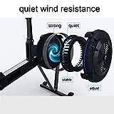 Rowing Machines Rudergerät Workout Ausrüstung Magnetic Übung Rower 10 Widerstandseinstellung mit LCD-Display 220 LB Gewicht Kapazität Faltbare for Home Gym (Color : White) - 4