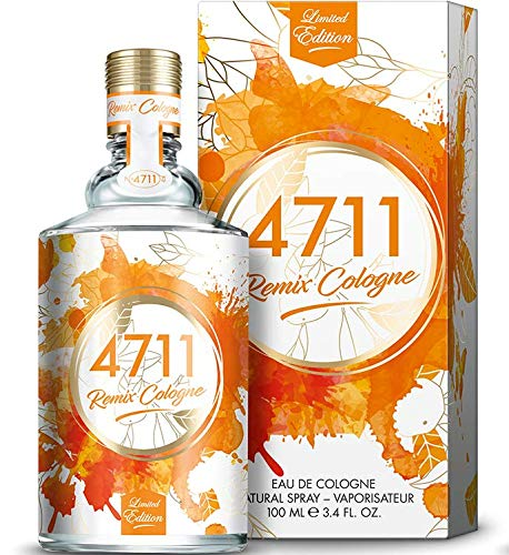 4711® Remix Cologne Orange I Limited Edition - Eau de Cologne - spritzig - laut - frisch - die facettenreiche Orange saftig neu ge-remixt! I 100ml Natural Spray Vaporisateur