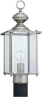 Sea Gull Lighting 8257-965 Jamestowne One Light Outdoor Post Lantern, 17