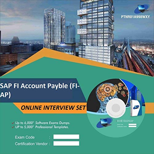 SAP FI Account Payble (FI-AP) Complete Unique Collection Interview Video Training Solution Set (DVD)