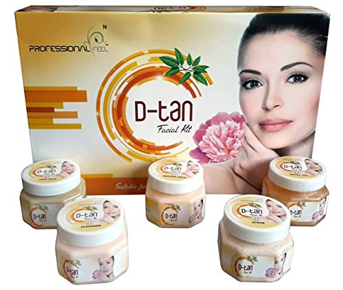 Professional Feel D-tan Facial Kit, Men & Women all type of skin...