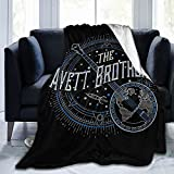 The Avett Brothers Blanket Flannel Fleece Ultra-Soft Lightweight Throw Blankets All Seasons for Bed Couch Chair Office Outdoors