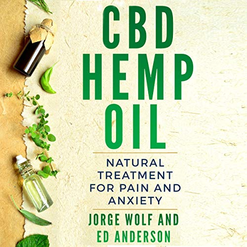 『CBD Hemp Oil: Natural Treatment for Pain and Anxiety』のカバーアート