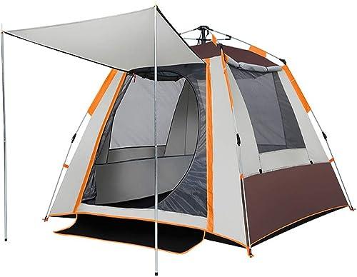 Youxd Camping Tent, 2-3 Personnes Facilement mis en Place Une Tente du désert Ultra Haute Prougeection UV Activités de Plein air Famille Jardin avec Poteau en Aluminium (Couleur   marron)